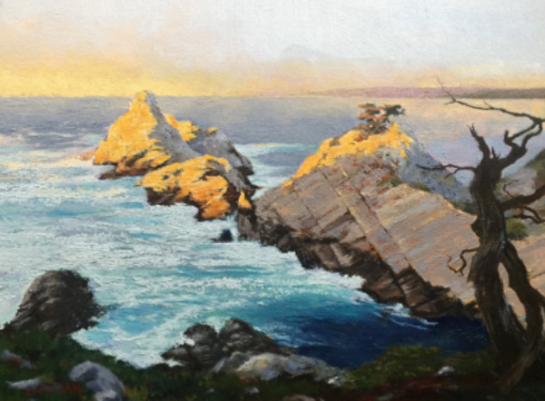 The Pinnacle, Pt. Lobos II by Ed Penniman