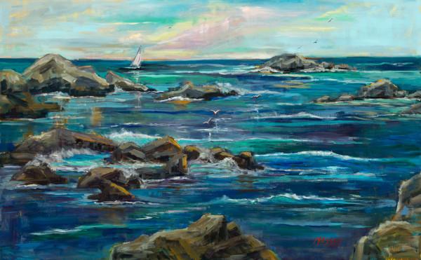 Sailing Asilomar by Marie Massey