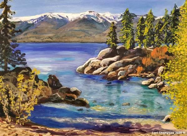 Secret Cove Lake Tahoe by Lori Thompson