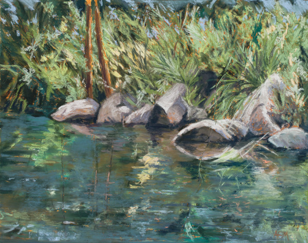 Stream Reflections by Amy Martin