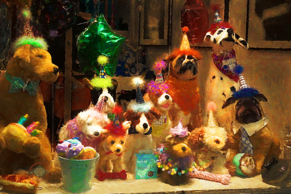 Dog Party by Norma Fries