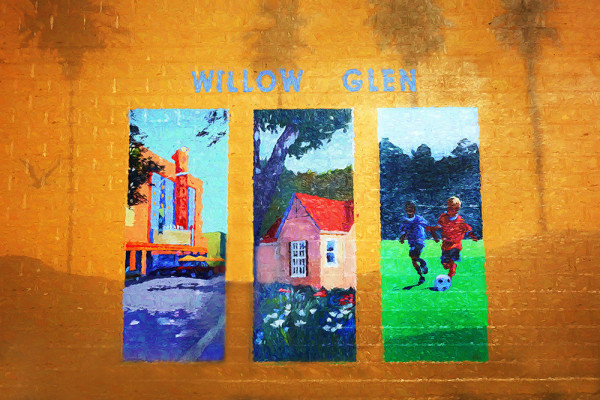 Willow Glen Mural by Norma Fries