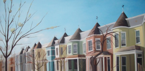 1100 Block of West Ave, Early Spring by Emma Knight