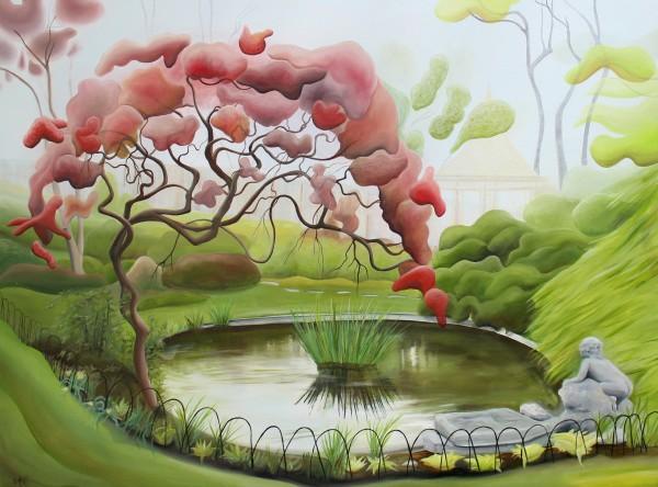 LaDew's Yellow Garden by Emma Knight