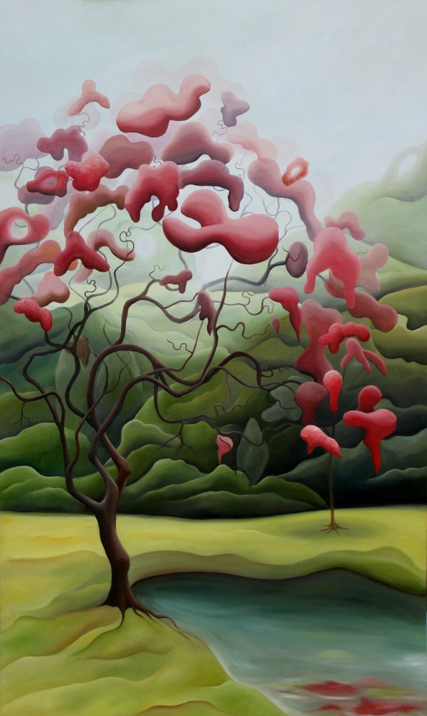 Red Tree by Emma Knight