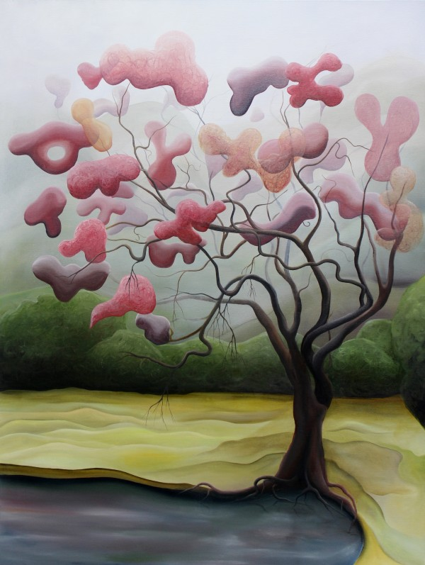 Right Plum Tongue Tree by Emma Knight
