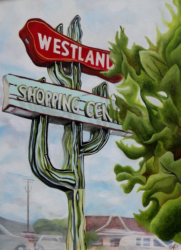 Westland Shopping Center by Emma Knight