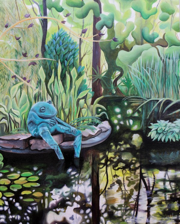 Frog Pond, ATL Botanical Garden II by Emma Knight