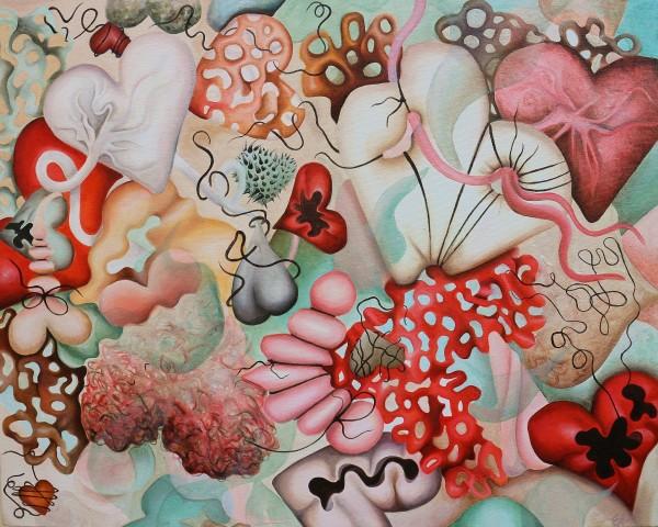 Deep Sea Heart Strings by Emma Knight