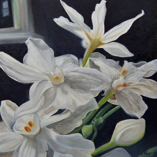 Paperwhites by Emma Knight