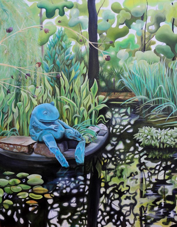 Frog Pond, ATL Botanical Garden by Emma Knight