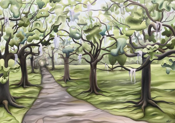Oak Lined Road by Emma Knight