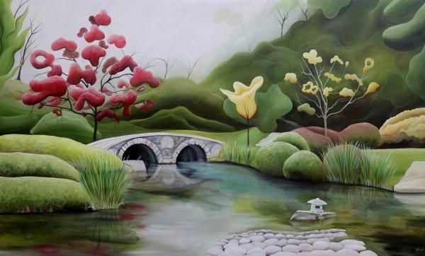 Maymont's Japanese Garden VIII by Emma Knight