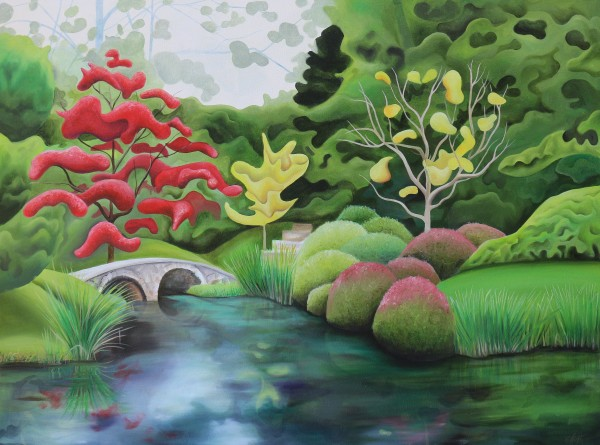 Maymont's Japanese Garden IX by Emma Knight