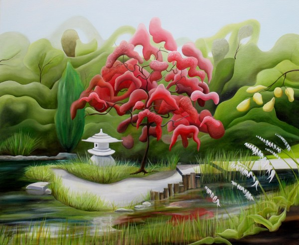Lewis Ginter's Japanese Garden II by Emma Knight