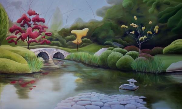 Maymont's Japanese Garden VII by Emma Knight