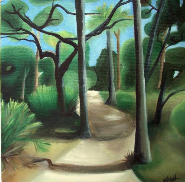 Skidaway Trail II by Emma Knight