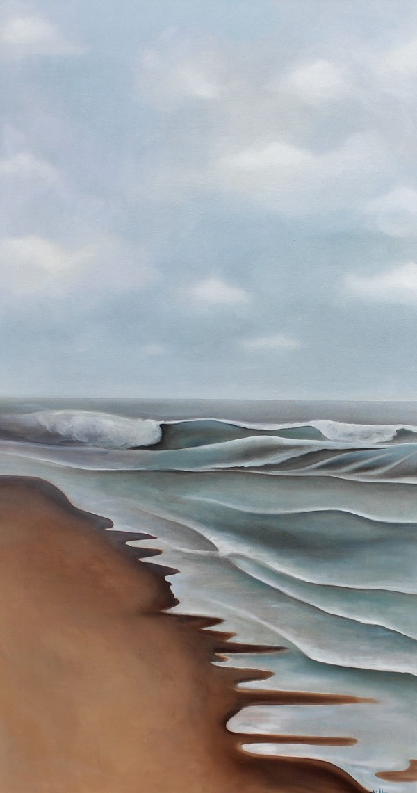 Trudging Slowly Over Wet Sand by Emma Knight