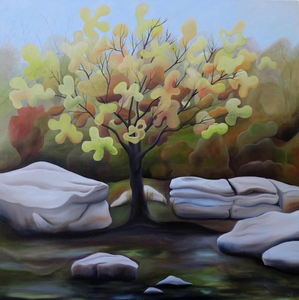 Yellow Tree by Emma Knight