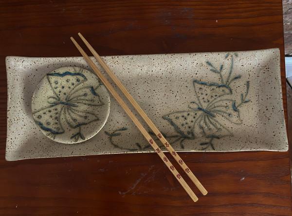 Butterfly Sushi/Appetizer Tray