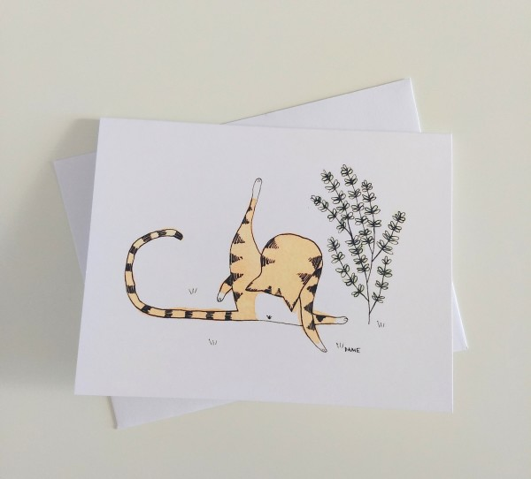 Self-Care Cat Card