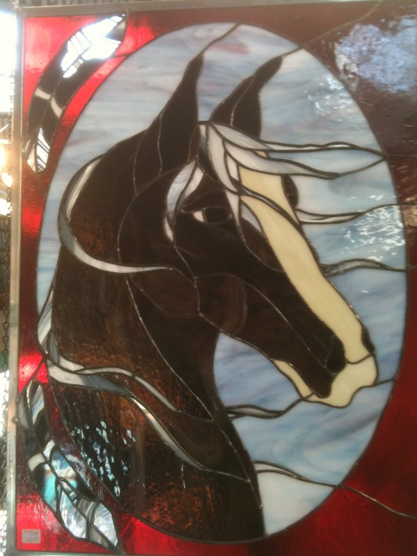 Chief Running Wild (Horse) by Pat Conway