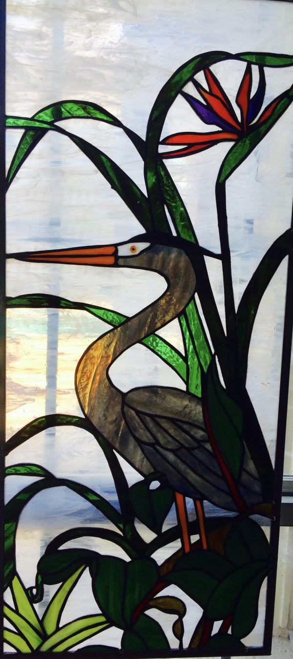 Heron by Pat Conway