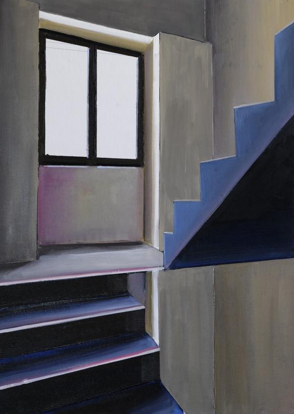 Magic Stairs by Judith Ansems Art