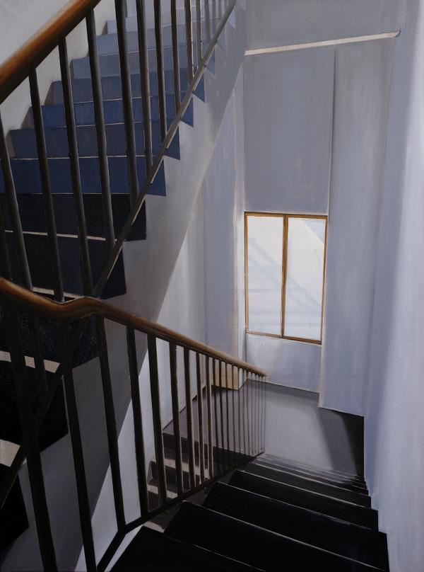 Stairwell Pastificio #3 by Judith Ansems Art