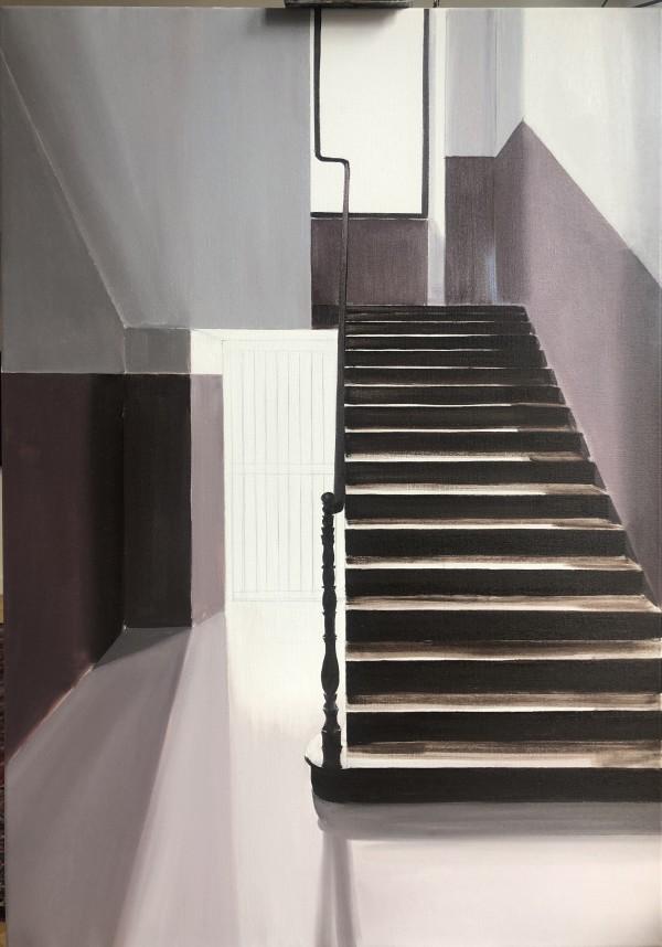 Stairwell Notaio Ventimiglia #3 by Judith Ansems Art