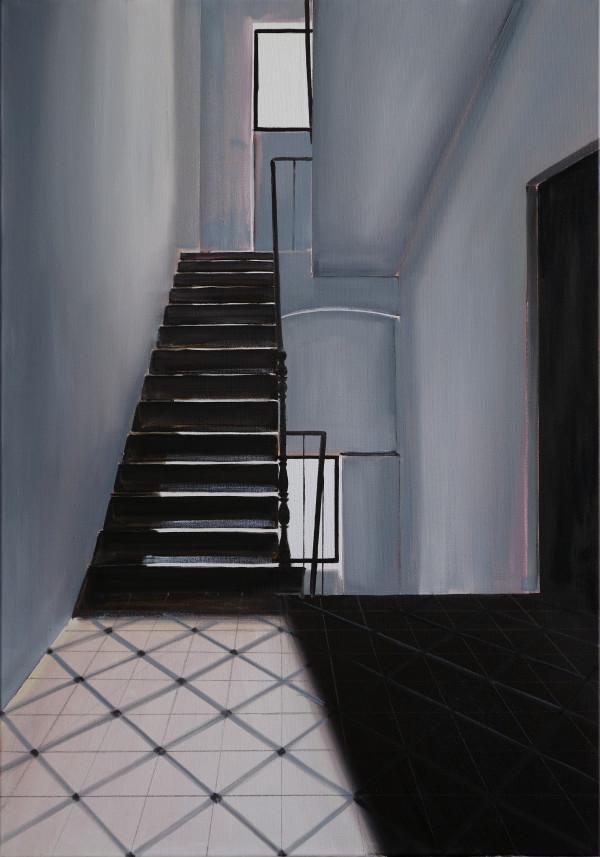 Stairwell Pastificio #1 by Judith Ansems Art