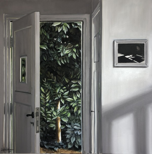 Knock and the door will open by Judith Ansems Art