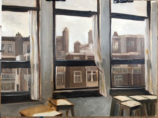 3 Windows in Amsterdam by Judith Ansems Art
