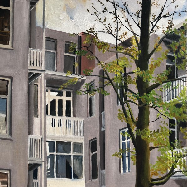 Dutch Balconies by Judith Ansems Art