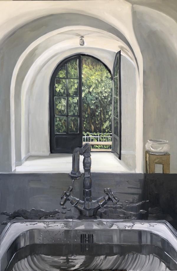 Leaking Tap by Judith Ansems Art