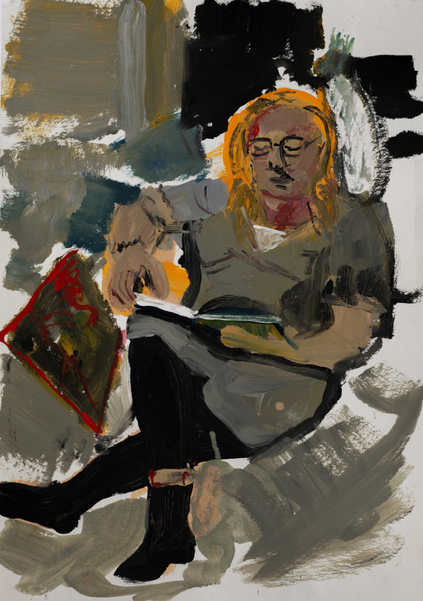 ANNA READING by Fran White