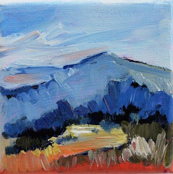 A Winter's Landscape by Rebecca Rath