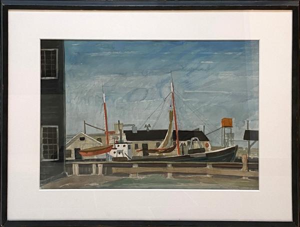 Fisherman's Wharf by Morris Blackburn
