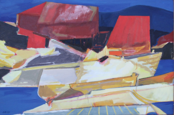 Sheds and Hulls by George Bayliss