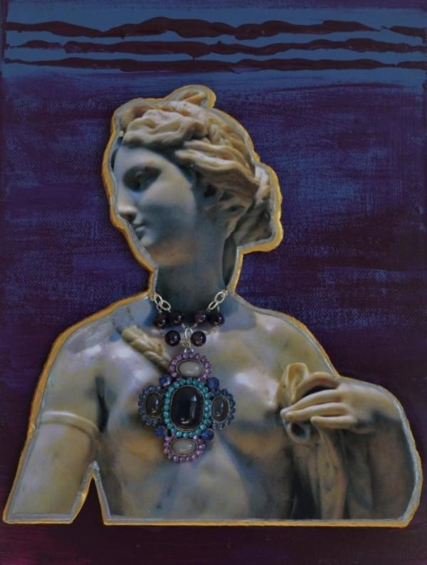 Renaissance Sister #2 L by Christine Ruksenas-Burton