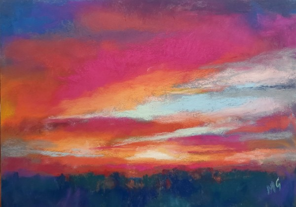 Sunset II - Celebration by Monika Gupta