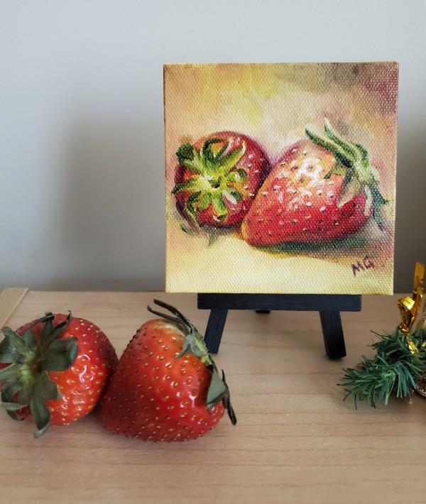 Juicy Reds - Mini by Monika Gupta