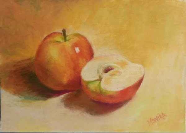 Apple and a Half by Monika Gupta