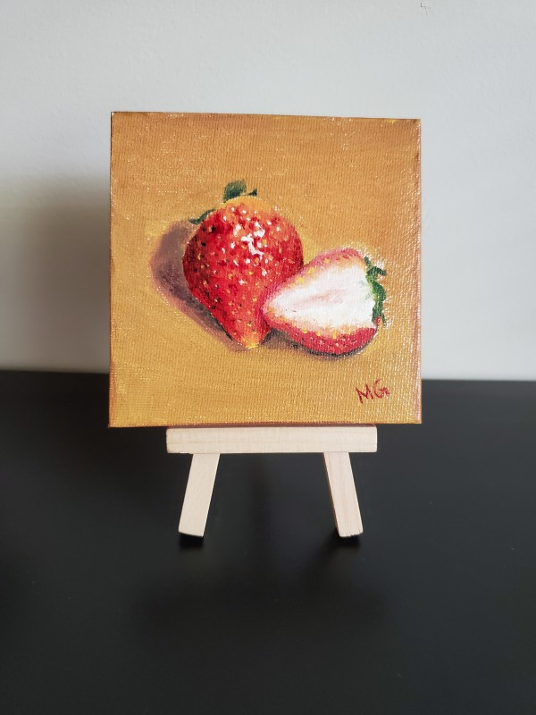 Mini - Strawberries by Monika Gupta