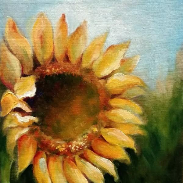 Sunflower by Monika Gupta