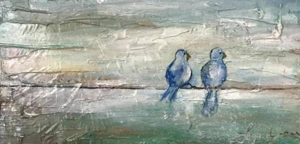 2 Birds #3 by Lyra Brayshaw