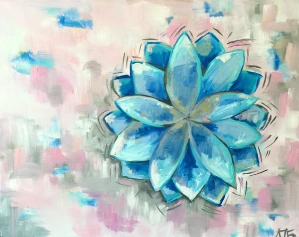 Blue Flower by Lyra Brayshaw