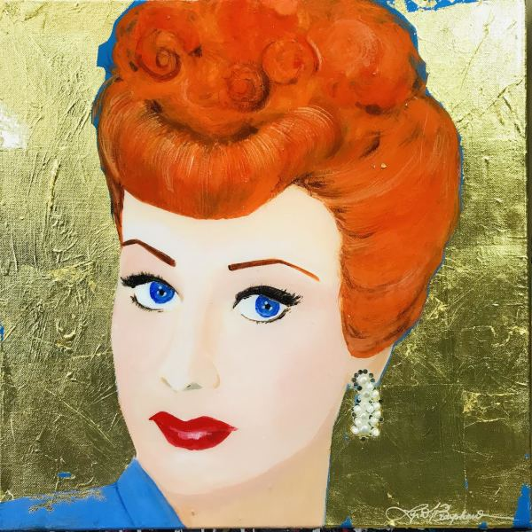 Lucille Ball by Lyra Brayshaw
