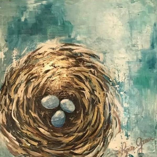 Nest Eggs by Lyra Brayshaw