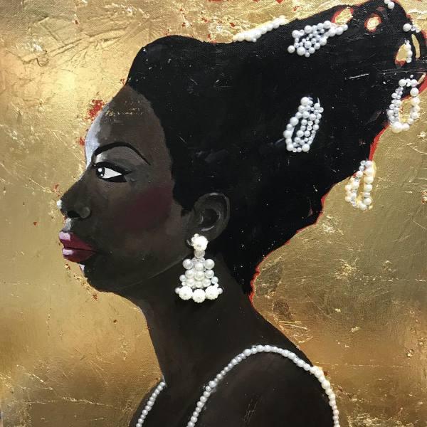 Nina Simone by Lyra Brayshaw